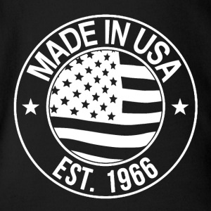 Made in usa - Baby Bio-Kurzarm-Body