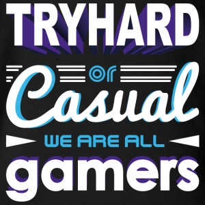 Tryhard ou occasionnel - We Are All Gamers - Body bébé bio manches courtes