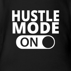 MODE ON HUSTLE - Vauvan lyhythihainen luomu-body