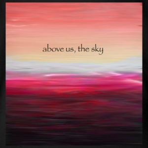 Above Us The Sky - Økologisk kortermet baby-body
