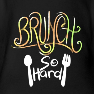 Brunch So Hard Love Sunday Brunch - Body bébé bio manches courtes