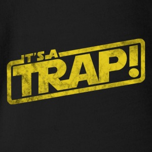 It's a trap - movie quote gift - Organic Short-sleeved Baby Bodysuit