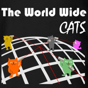 World Wide Cats - Økologisk kortermet baby-body