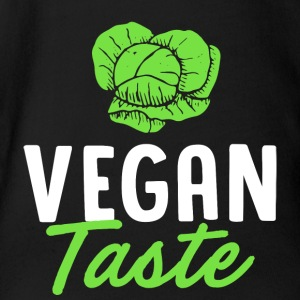 Vegan Taste Vegan Taste Vegetables - Organic Short-sleeved Baby Bodysuit
