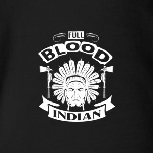 INDIAN | FULL BLOOD INDIAN - Ekologisk kortärmad babybody
