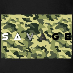 Savage camo premium - Organic Short-sleeved Baby Bodysuit