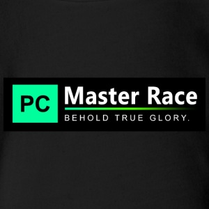 PC Master Race - Organic Short-sleeved Baby Bodysuit