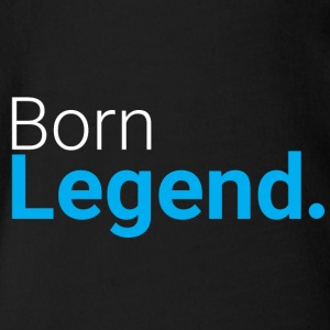 Born Legend - Økologisk kortermet baby-body
