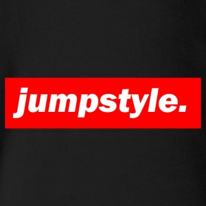 techno mischpult red bass bpm jumpstyle - Baby Bio-Kurzarm-Body