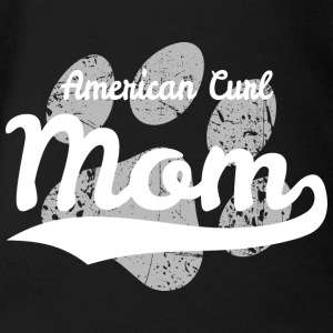American Curl Mom - Organic Short-sleeved Baby Bodysuit
