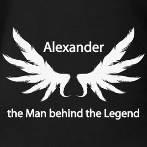 Alexander the Man behind the Legend - Baby Bio-Kurzarm-Body