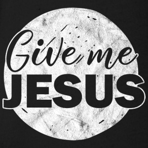 GIVE ME JESUS - Organic Short-sleeved Baby Bodysuit
