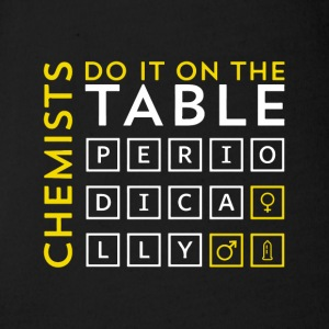 Chemist do it on the table periodically gift - Organic Short-sleeved Baby Bodysuit