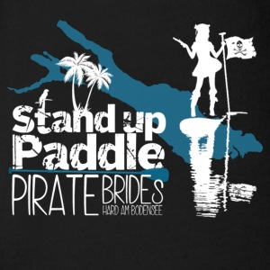 Stand Up Paddle Pirate Brides Bodensee wit - Baby bio-rompertje met korte mouwen