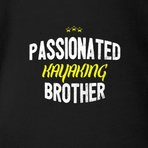 Distressed - PASSIONATED KAYAKING BROTHER - Baby Bio-Kurzarm-Body