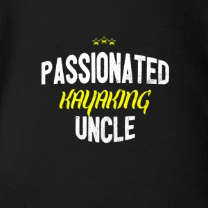 Distressed - PASSIONATED KAYAKING UNCLE - Baby Bio-Kurzarm-Body