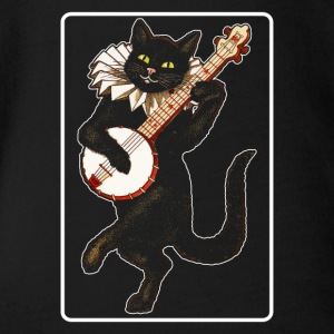 Banjo Cat - Baby Bio-Kurzarm-Body