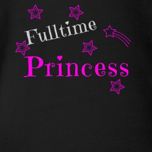 Princess princess design gift - Organic Short-sleeved Baby Bodysuit
