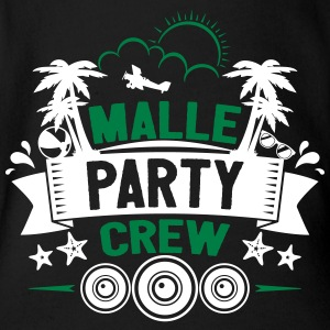 Malle Party Crew - Organic Short-sleeved Baby Bodysuit