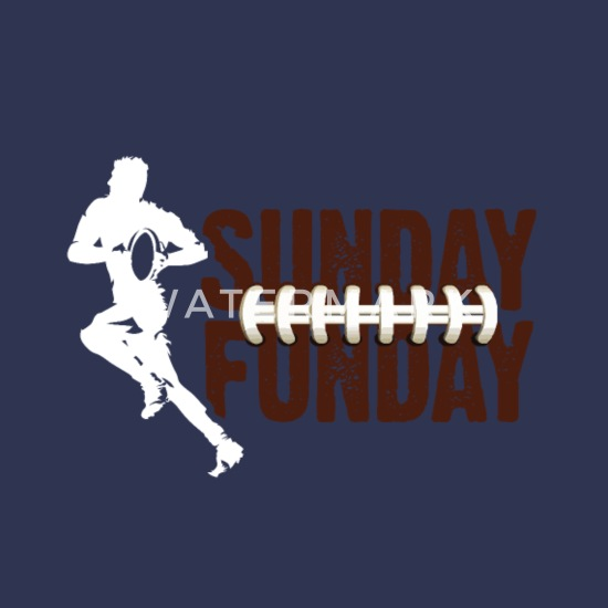 00d08b122 Sunday Funday American Football Dilly Dilly Design - Organic Short-Sleeved Baby  Bodysuit. Front. Back. Design
