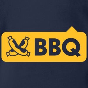 BBQ With Sausages - Organic Short-sleeved Baby Bodysuit