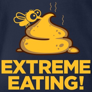Extreme Eating - Organic Short-sleeved Baby Bodysuit