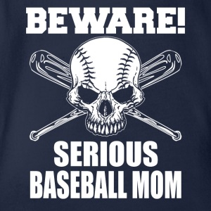 Baseball MOM - Økologisk kortermet baby-body