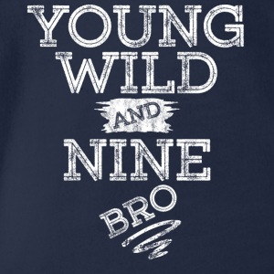 YOUNG WILD AND NINE T-SHIRT - Baby Bio-Kurzarm-Body