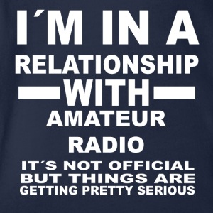relationship with AMATEUR RADIO - Baby Bio-Kurzarm-Body