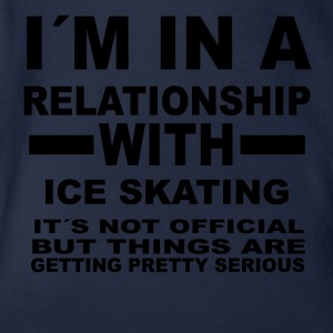 relationship with ICE SKATING - Baby Bio-Kurzarm-Body