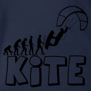 Kite Kiteboarding Evolution - Baby Bio-Kurzarm-Body