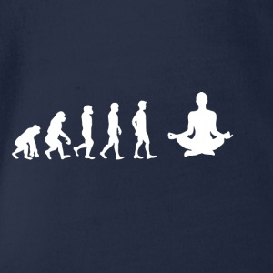 EVOLUTION yoga meditation - Baby Bio-Kurzarm-Body