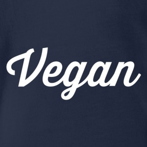 vegan - Organic Short-sleeved Baby Bodysuit
