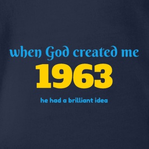 God idea 1963 - Organic Short-sleeved Baby Bodysuit
