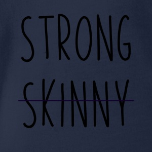 Strong is new - Baby Bio-Kurzarm-Body