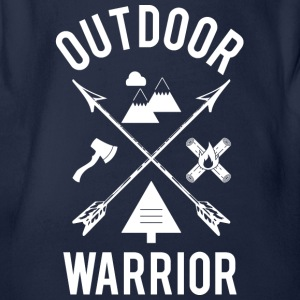 Outdoor Warrior - Baby Bio-Kurzarm-Body