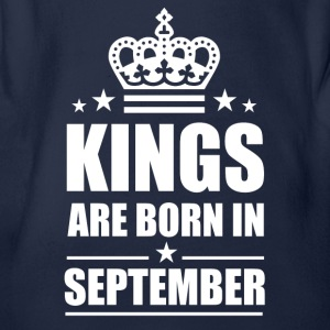 September King - Baby Bio-Kurzarm-Body