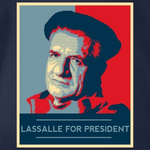 Lassalle-Obama For President - Body bébé bio manches courtes