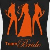 team bride - Women's Scoop Neck T-Shirt