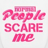 Normal people scare me - EarthPositive Tote Bag