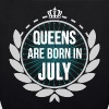 Queens Are Born In July - EarthPositive Tote Bag