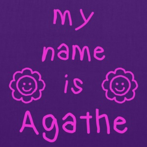 AGATHE MY NAME IS - Tote Bag