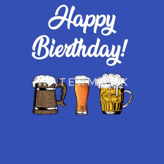 Gratulerer med dagen! Bursdag øl Ryggsekk | Spreadshirt