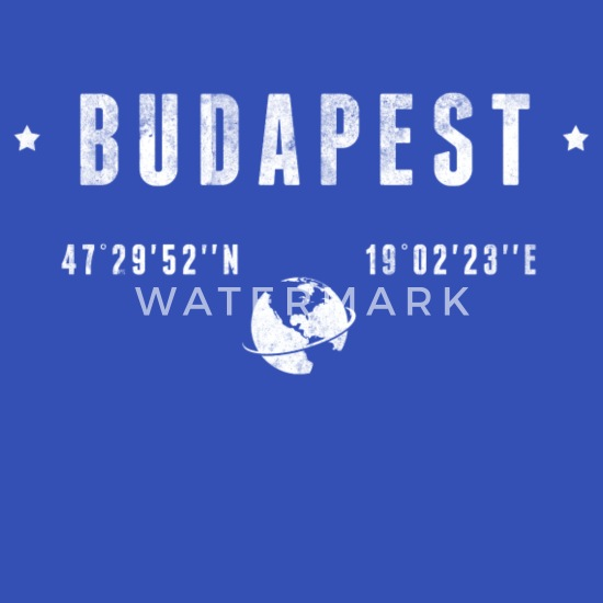 Budapest Stoffveske | Spreadshirt