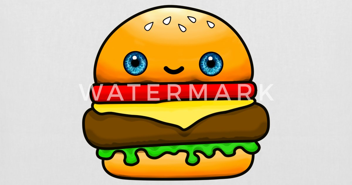 Hamburger Sac En Tissu Spreadshirt