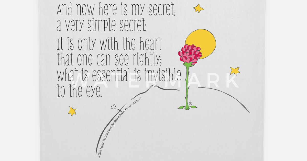 Quotes From The Little Prince About Rose - Best Quote ...