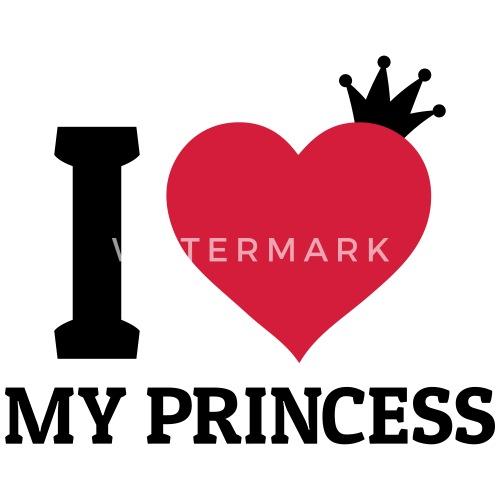 i love my princess by zombie pinguin spreadshirt