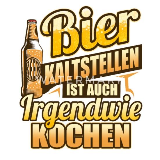 Bier Spruch Macho Bierkrug Geburtstag Bierbauch Stoffbeutel