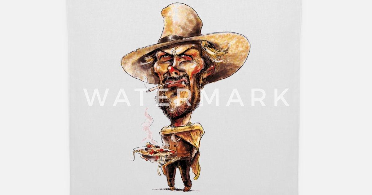 Cowboy Karikatur Wilder Westen Geschenkidee Essen von funny.stuff ...