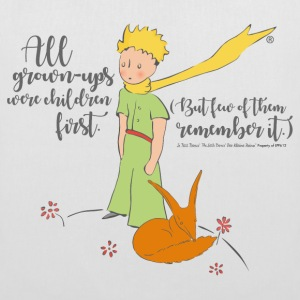 The Little Prince With Fox Quote Grown-Ups
